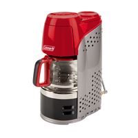 Coleman 2000020942 10 Cup Portable Prpn Coffmker Rd Blk Gry