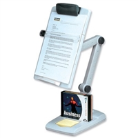 FELLOWES INC. 21128 FLEX ARM WEIGHTED BASE COPYHOLDER DDS MUST BE ORDERED IN