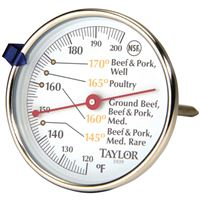 Taylorr Precision Products 5939N Meat Dial Thermometer