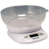 Taylor Precision Products 380444 4.4 Lb Scale Bowl