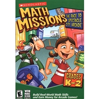 Scholastic 81677 Math Missions: The Race To Spectacle City Arcade Grades K-2