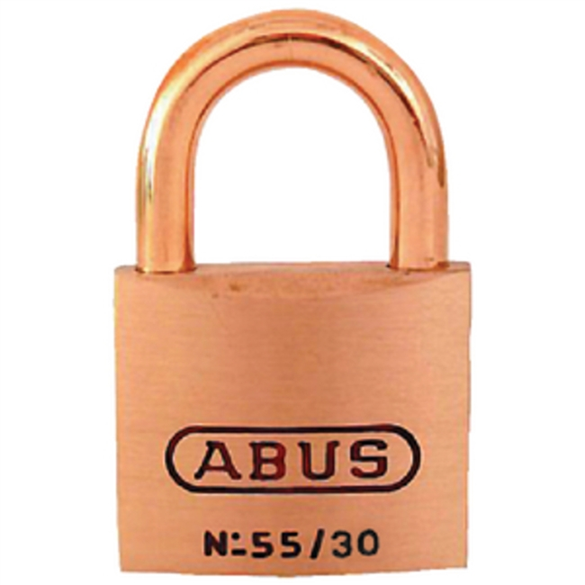 Abus Lock 55806 Padlock Key 5301 Brass 1-1/4I