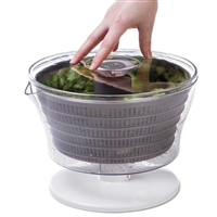 Progressive Pl8-1700 4 Quart Easy Press Salad Spinner Mixer Tosser Pl8