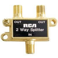Rca Vh47R Two-Way Splitter