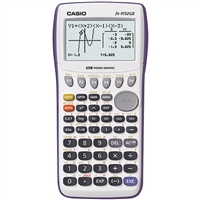 Casio Fx-9750Gii-We Graphing Calculator Lcd Battery Powered White