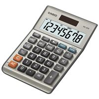 Casio-Computer Ms-80S-S-Ih Desktop Calc 8-Digit Display Tax Currecy Profit