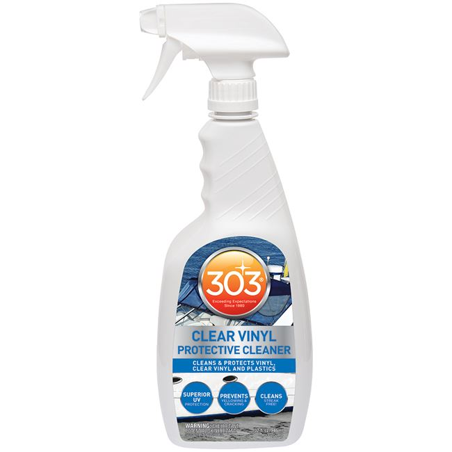 303 30215 Marine Clear Vinyl Protective Cleaner Trigger Sprayer 32Oz