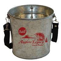 Frabill 1062 Galvanized Wade Bucket 2 Quart