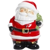 Gibson Home 113253.01 Jovial St. Nick 7.5 Inch Santa Holiday Cookie Jar