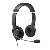 KENSINGTON COMPUTER K97601WW THE USB HI-FI HEADPHONES MICROPHONE IS A DURABLE