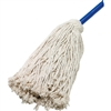Captains Choice M-1020 Cotton Mop-20 Oz. Wood Handl