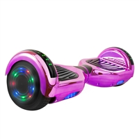 Aob Z1-Pur-Bt-2 Hoverboard In Purple Chrome Bluetooth Speakers