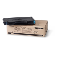 XEROX 106R00680 CYAN HIGH CAPACITY TONER CARTRIDGE PHASER 6100