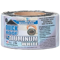 Cofair Products WQR625 Quick Roof Repair 6Inx25' Wht
