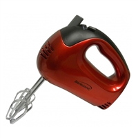 Brentwood Appliances Hm-46 5 Spd Hand Mixer Red