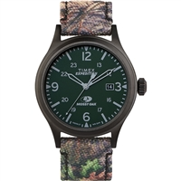 Timex Tw2T94600So X Mossy Oak Standard 40Mm Case Dark Camouflage