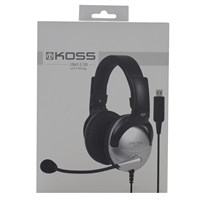 Koss-Headphones Sb45 Usb Comm Headset Mic 8Ft Vol Noise Reduction