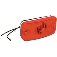 RV Designer E395 Clearance Light-Fleetwood-Red