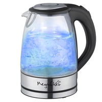 Megachef Mgktl-1761 1.7Lt. Glass And Stainless Steel Electric Tea Kettle