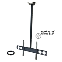 Megamounts Cmc-348-Bndl Heavy Duty Tilting Ceiling Televeision Mount
