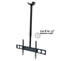 Megamounts Cmc-348 Heavy Duty Tilting Ceiling Television Mount