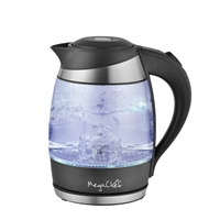 Megachef Mgktl-1757 1.8Lt. Glass And Stainless Steel Electric Tea Kettle