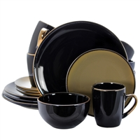 Elama El-Cambridgegrand Cambridge Grand 16-Piece Dinnerware Set In Luxurious