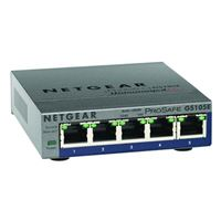 Netgear Gs105E-200Nas Prosafe Plus 5-Port Gigabit Ethernet Switch