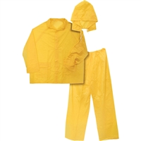 Ironwear 83616 3 Piece Economy Rainsuit Yellow 8236-Y 3Xl