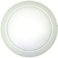 AP Products 016-SON-103 Wht Surf Mnt Round Led Fixture