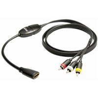 Pac Ishdo1 Hdmi To Composite Video/Audio Adaptor Cable