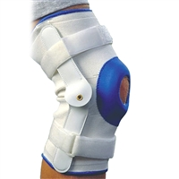 Alex Orthopedic 3636S Deluxe Compression Knee Support Hinge Small