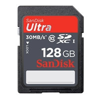 Sandisk Sdsdunc-128G-An6In Ultra Sdxc Memory Card 128Gb Class 10/Uhs-I