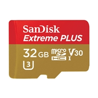 Wdt Sdsqxwg-032G-Ancma 32Gb Extremeplus Micro Sdhc Uhs-I 95/90Mb/S Card Adapter