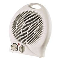 Optimus H1322 White Heater Fan Portable Thermostat