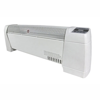 Optimus H-3603 30 In. Baseboard Convection Heater Digital Display And