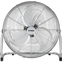 Optimus F-4122 12 In. Industrial Grade High Velocity Fan Chrome Grill