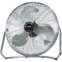 "Optimus F-4123 12"" Industrial Grade High Velocity Fan Painted Grill"