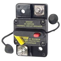 Blue Sea Systems 7183 50 Amp Circuit Breaker Surface Mount 285 Series