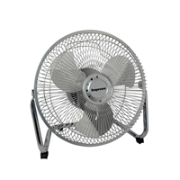 Impress Im-709V 9-Inch All Metal High Velocity Fan- Silver Finish