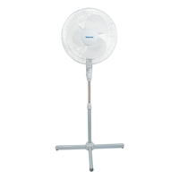 Impress Im-716W Handi-Fan 16 Inch Oscillating Stand Fan- White