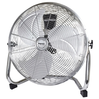 Impress Im-778F 18 Inch High Velocity Metal Fan- Chrome