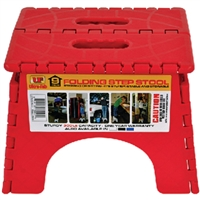 Ultra-Fab 56-978003 Step-9In Plastic Folding Red
