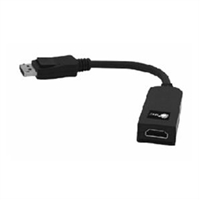 SIIG INC. CB-DP0062-S1 ENABLES DISPLAYPORT EQUIPPED SYSTEMS TO WORK HDMI