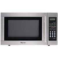 Magic Chef D1310St 1.3 Cf 1000W Microwave All Stainless