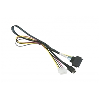 Supermicro CBL-SAST-0956 Cable 55cm OCuLink to PCIE SFF-8639 U.2 Power Bare