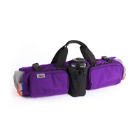 Hotdog Hd105 Skooba Design Yoga Mat Carrying Gym Bag Case Rollpack Amethyst