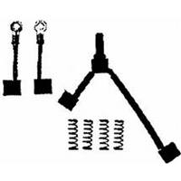Arco Starting And Charging BK900 P-O/B Starter Repr Kit Brushes