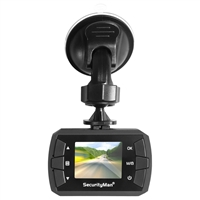 Mace Group Carcammicro Securityman Microhd Car Camera Recorder Dashcam Built-In