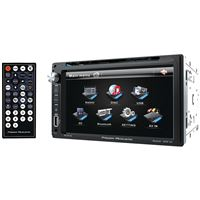 Power Acoustik Pd-651B Double Din Am/Fm/Dvd/Bt 6.5""